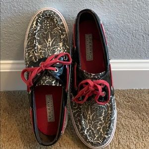 SPERRY TOP-SIDER PAISLEY W/SEQUINS